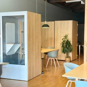 co-working and childcare